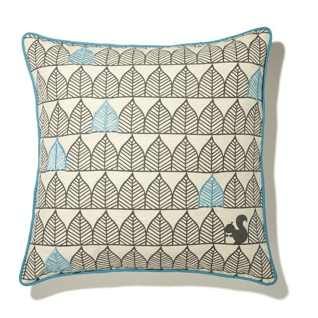 Arches Cushion - Blue - 1