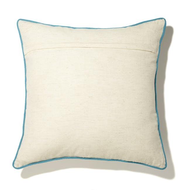 Arches Cushion - Blue - 2