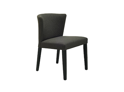 Rhoda Dining Chair - Black, Mud
