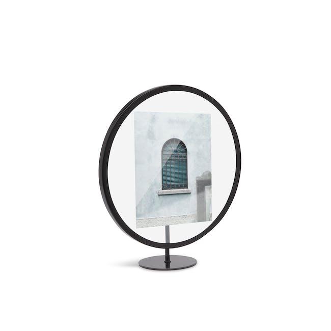 Infinity Round Photo Display - Small - Black - 2