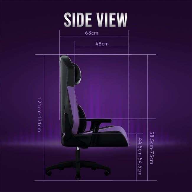 OSIM uThrone Gaming Massage Chair - Self Assembled - Black - 11
