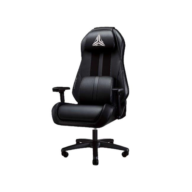 OSIM uThrone Gaming Massage Chair - Self Assembled - Black - 0