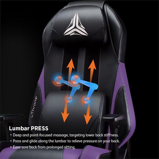 OSIM uThrone Gaming Massage Chair - Self Assembled - Black - 3