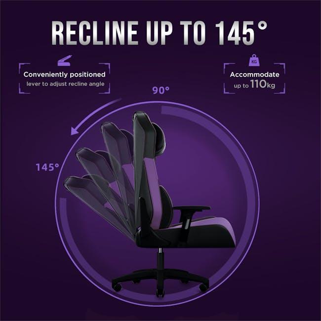 OSIM uThrone Gaming Massage Chair - Self Assembled - Black - 7