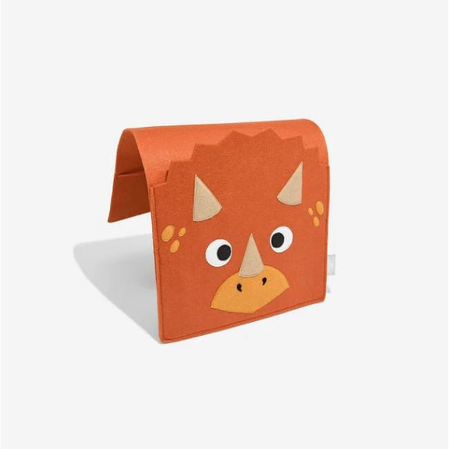 Little Stackers Bed Pocket - Troy Triceratops - 2