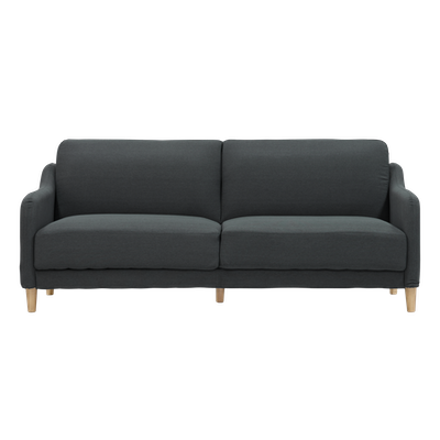 (As-is) Angelo Sofa Bed - Granite - 1 - Image 1