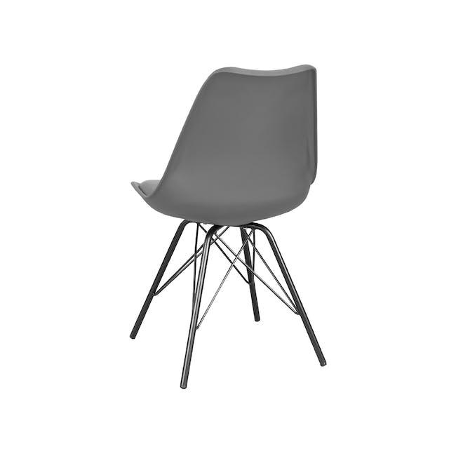 Axel Chair - Black, Grey - 3