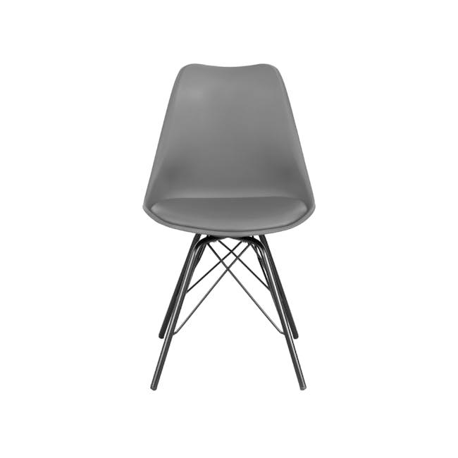 Axel Chair - Black, Grey - 2