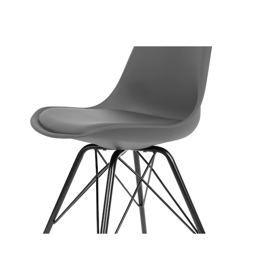 Lichang - Axel Chair - Black, Grey
