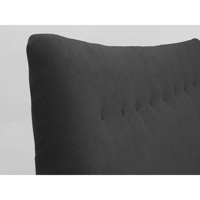 Ronan King Bed - Onyx Grey - 8