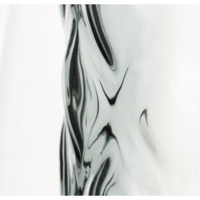 T2 Diamond Double Wall Glass - Smokey Grey - 2