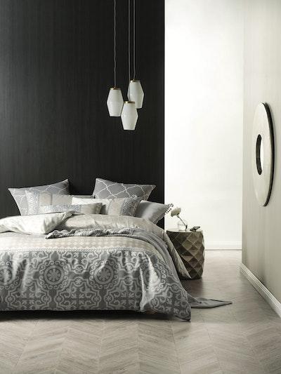 (King) Cubana 4-Pc Bedding Set - Image 2