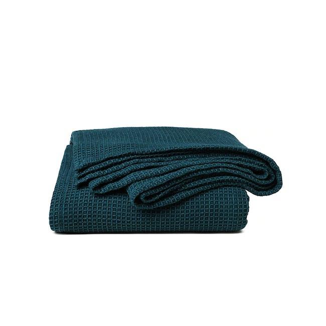 Canningvale Toscana Blanket - Azzurrite Teal - 0