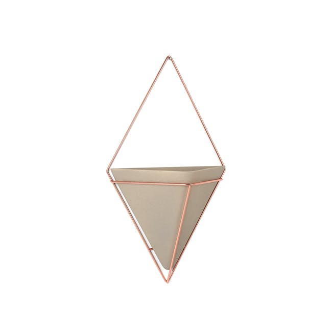 Trigg Large Wall Vessel - Copper - 1
