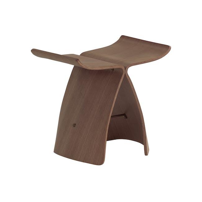 Butterfly Stool Replica - Walnut - 0