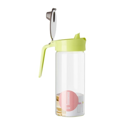 580ml Glass Oil Dispenser  - Green