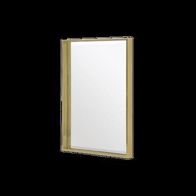 (As-is) Julia Half-Length Mirror 60 x 80 cm - Brass - 1 - Image 1