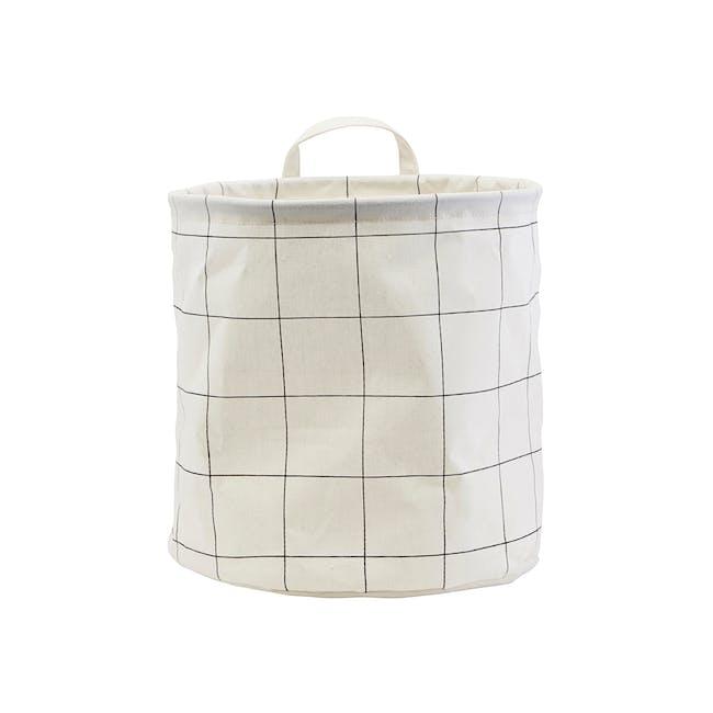 Checked Storage Bag - Medium - 0