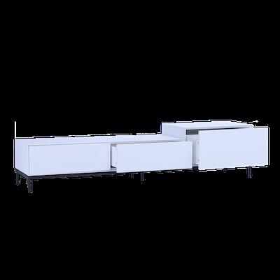 Lamont TV Cabinet 1.8m - White - Image 2