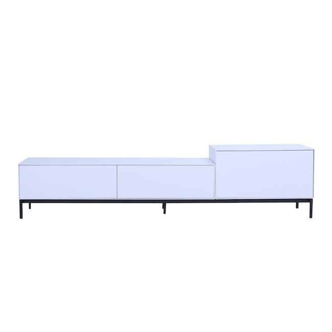 Lamont TV Cabinet 1.8m - White - 2