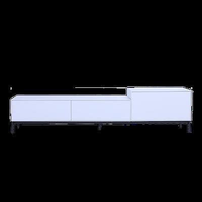 Lamont TV Cabinet 1.8m - White - Image 1