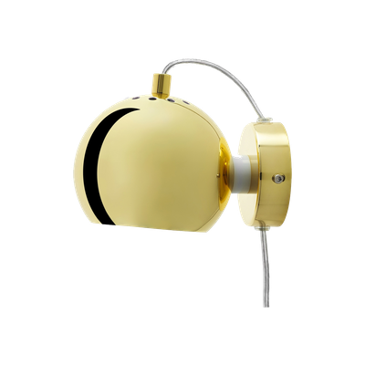 Slug Wall Lamp - Brass - Short - Image 2