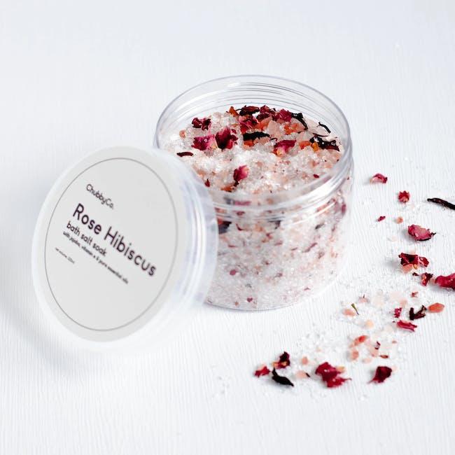Bath Salt Soak - Rose Hibiscus - 0