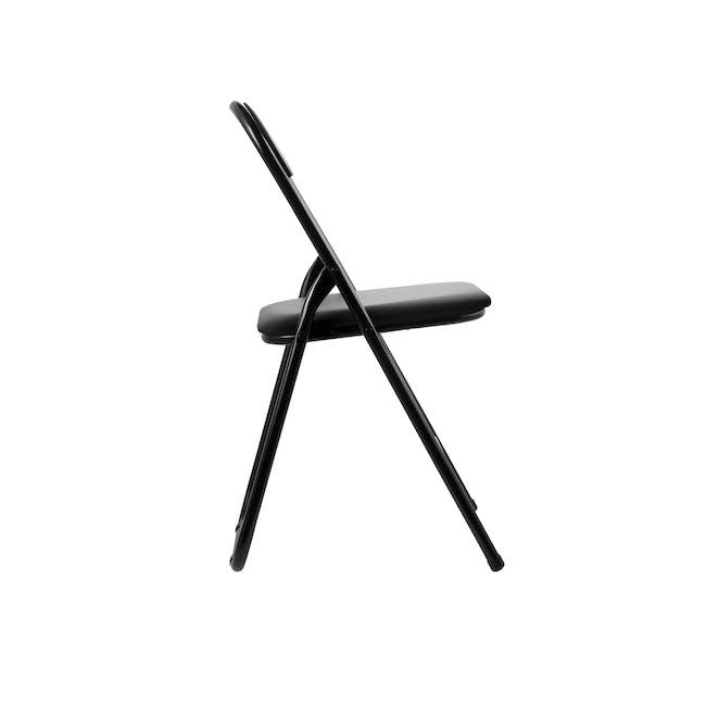 Meko Folding Chair - Black - 2