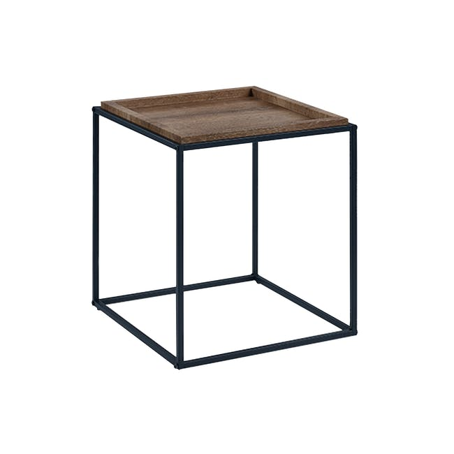 Dana Square Side Table - Walnut - 3