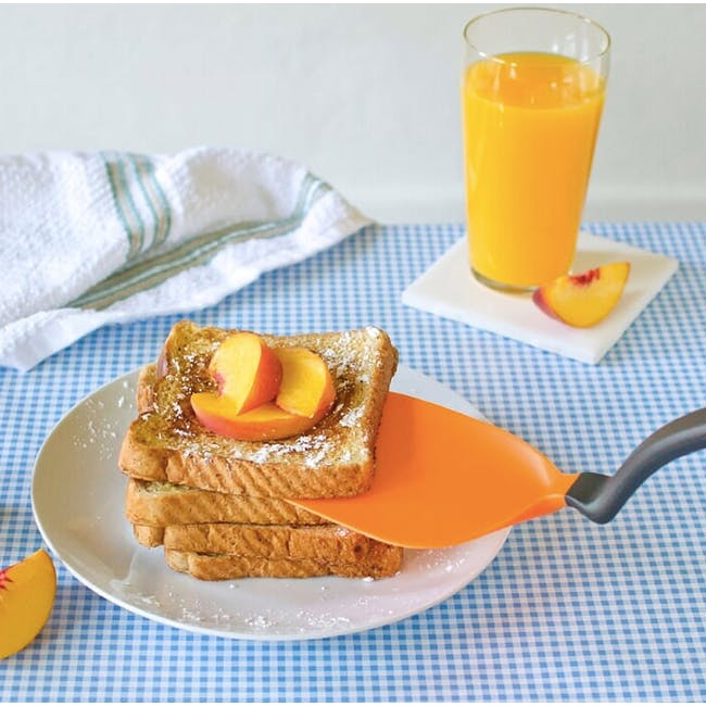 Dreamfarm Chopula Chopping Sit-up Spatula - Orange - 1