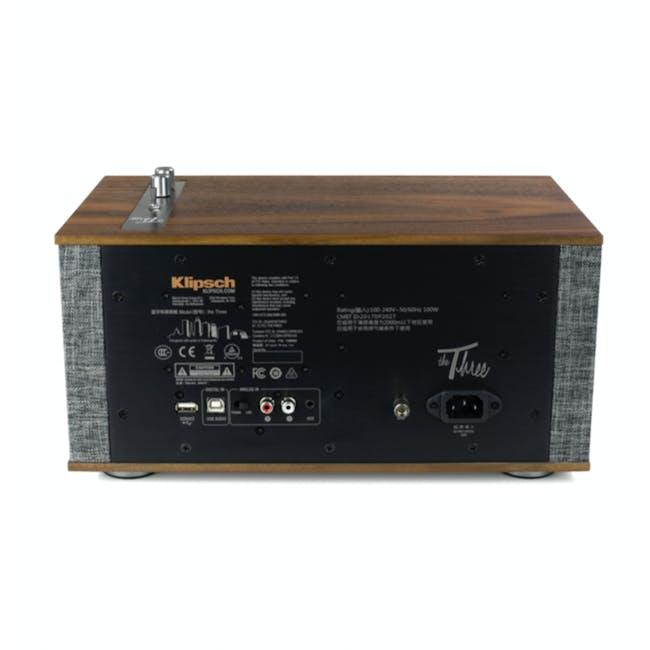 Klipsch The Three II Heritage Bluetooth Speaker - Walnut - 3