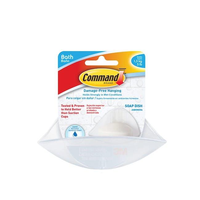 Command™ Bath Soap Dish - 2