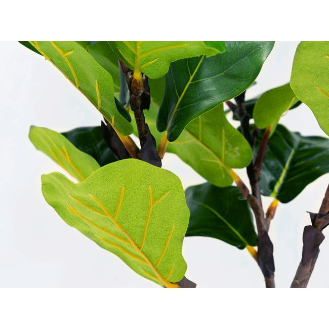 Potted Faux Fiddle Leaf Fig Tree 150 cm - 2