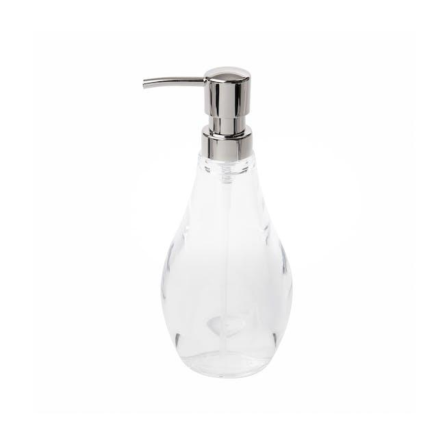 Droplet Soap Pump - Clear - 2