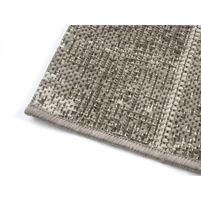 Star Flatwoven Rug 1.7m x 1.2m - Grey Patchwork - 3