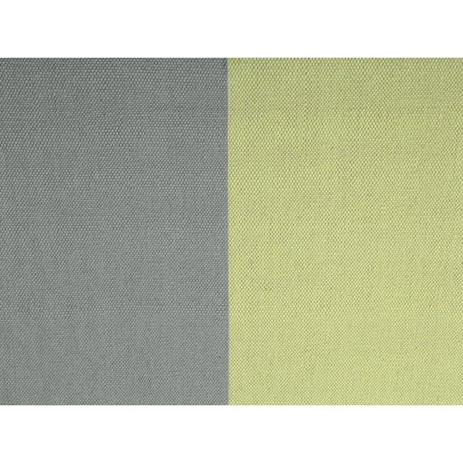 Mitad Flatwoven Rug 2.4m x 1.7m - Yellow - 1