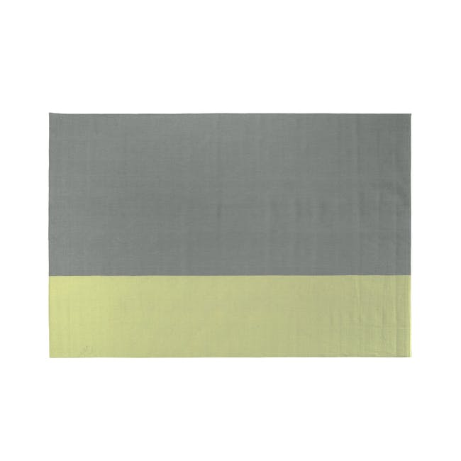 Mitad Flatwoven Rug 2.4m x 1.7m - Yellow - 0