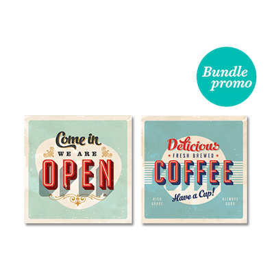 Retro 2 Print  Poster Bundle