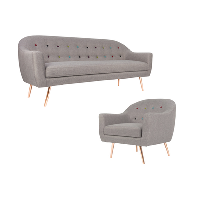 Taylor 3 Seater Living Room Set - Image 1