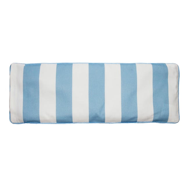 Zoo Snuggy Beansprout Husk Pillow - Blue (Organic Cotton) - 1