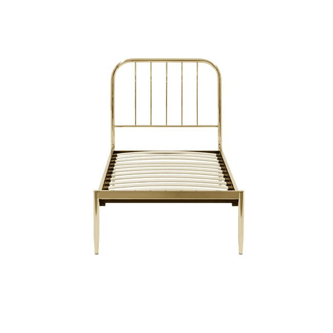 Giselle Single Bed - Brass - 2