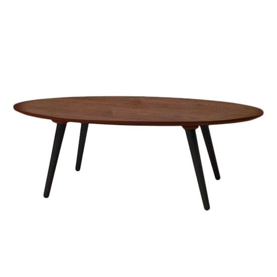 Malmo - Carsyn Oval Coffee Table - Cocoa
