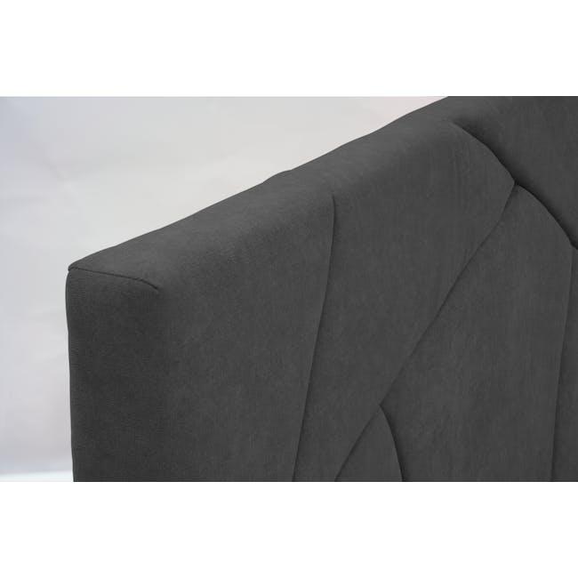 Kieran Queen Bed - Onyx Grey - 8