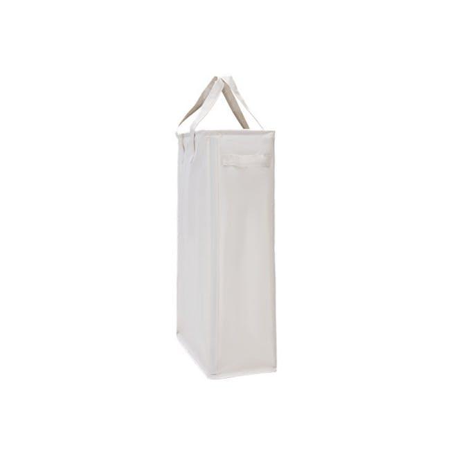 Mason Slim Laundry Hamper - Beige - 0