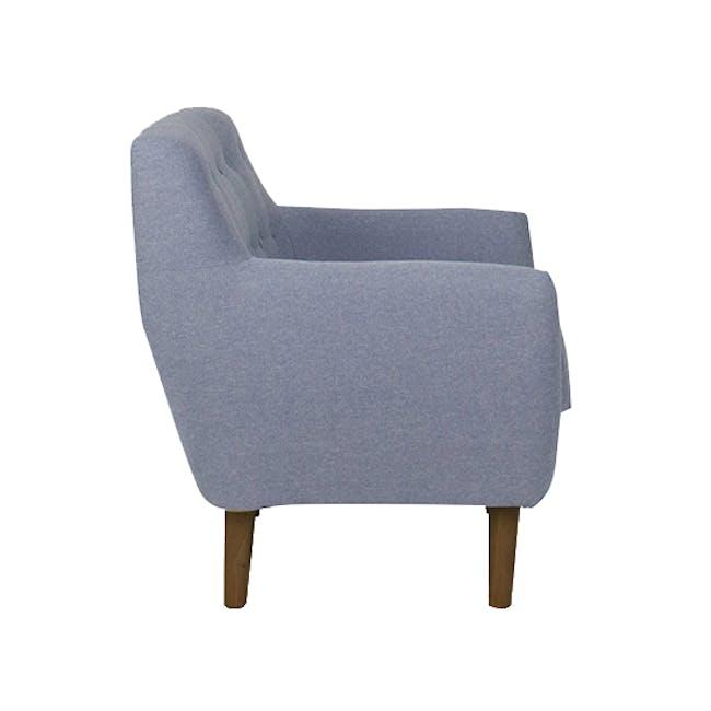 Emma 3 Seater Sofa with Emma Armchair - Dusk Blue - 16