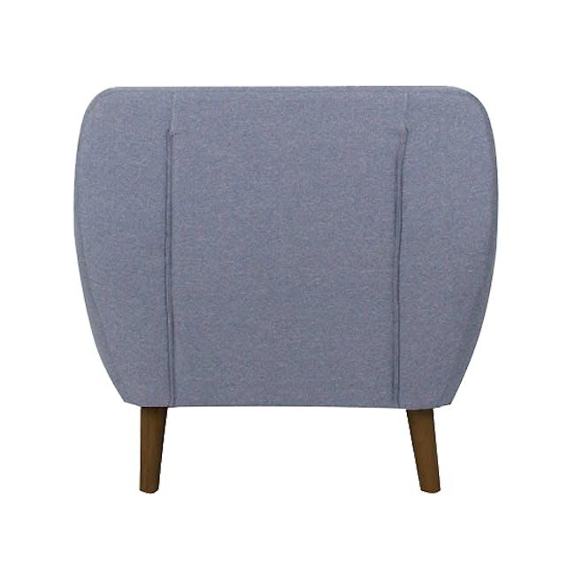 Emma 2 Seater Sofa with Emma Armchair - Dusk Blue - 14