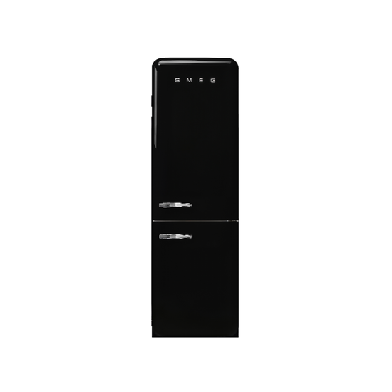 SMEG - Smeg FAB32 2-Door Refrigerator 323L - Black