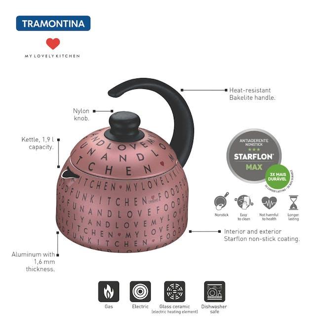 Tramontina My Lovely Kitchen 1.9L Kettle - 4