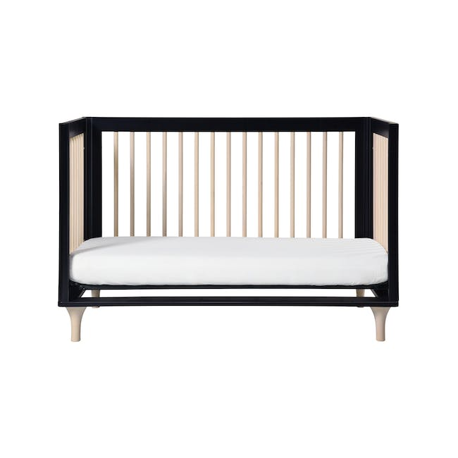 Babyletto Lolly 3-in-1 Convertible Crib - Black & Washed - 5