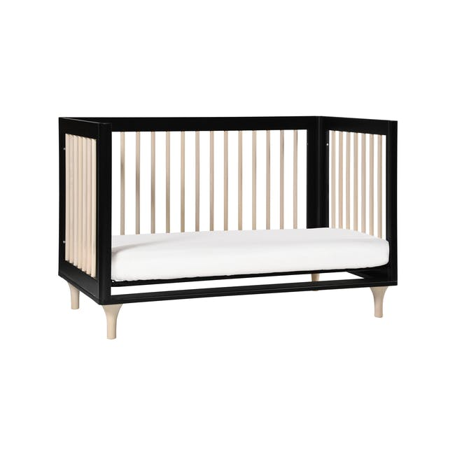 Babyletto Lolly 3-in-1 Convertible Crib - Black & Washed - 6